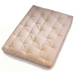 Wolf Serta Sycamore Futon Mattress in Natural - Full Size