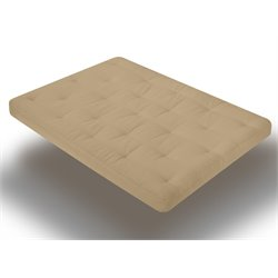 Wolf Serta Cypress Futon Mattress in Khaki - Full Size
