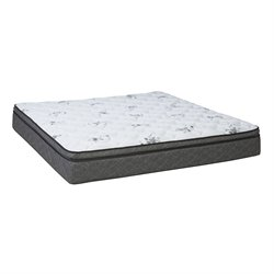 Wolf Legacy Pillow Top King Size Mattress in White