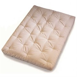 Wolf Serta Memory Cloud Futon Mattress in Natural