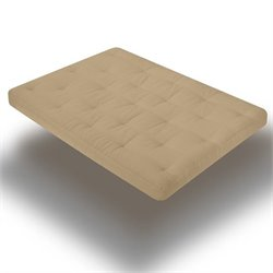 Wolf Serta Memory Cloud Futon Mattress in Khaki