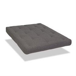 Wolf Serta Memory Cloud Marmor Upholsted Futon Mattress