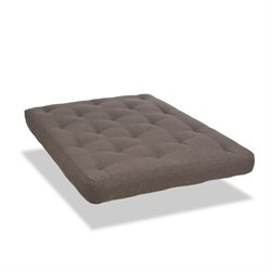 Wolf Serta Memory Cloud Antelope Upholstered Futon Mattress
