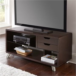 Steve Silver Ella 50'' Low Profile TV Stand in Espresso