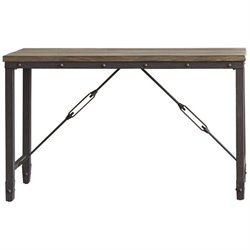 Steve Silver Jersey Console Table in Antique Tobacco