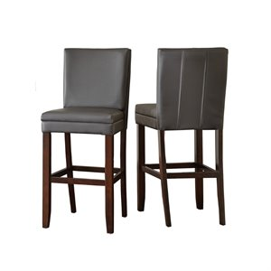 Steve Silver Bennett Vinyl Bar Chair