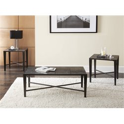 Steve Silver Baxter 3 Piece Coffee Table Set