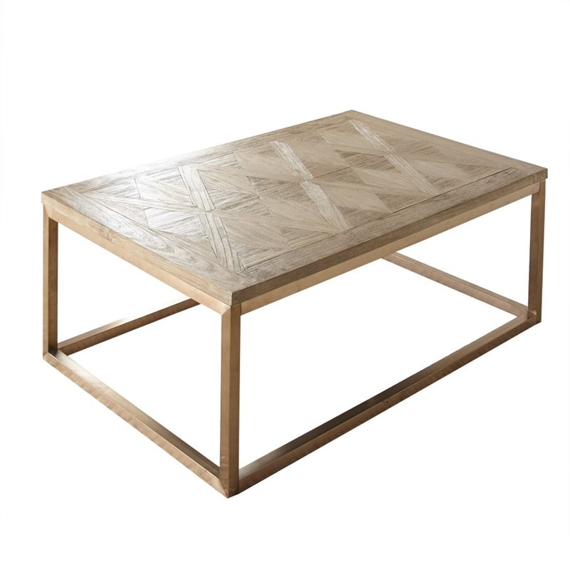 Steve Silver Gino Coffee Table In Soft Driftwood Gn700c