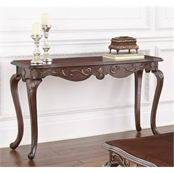 Steve Silver Lisburn Console Table in Cherry