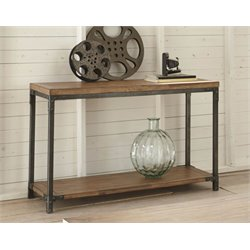 Steve Silver Lantana Console Table in Antique Honey