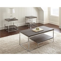 Steve Silver Lucia 3 Piece Coffee Table Set
