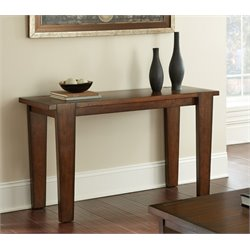Steve Silver Vince Console Table in Brown Cherry