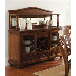 Steve Silver Wyndham Buffet in Medium Cherry