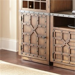 Steve Silver Wayland Left Facing Accent Chest in Driftwood