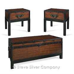 Steve Silver Company Voyage 3-piece Table Set