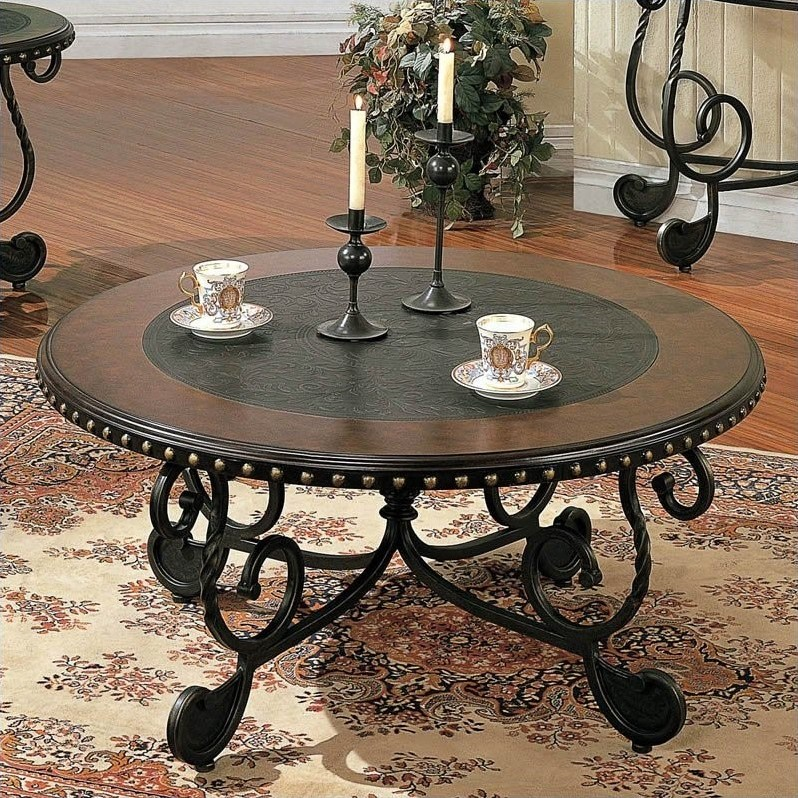 Steve Silver Company Rosemont Cherry Coffee Table
