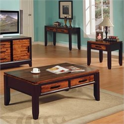 Steve Silver Company Abaco 3 Piece Coffee Table Set