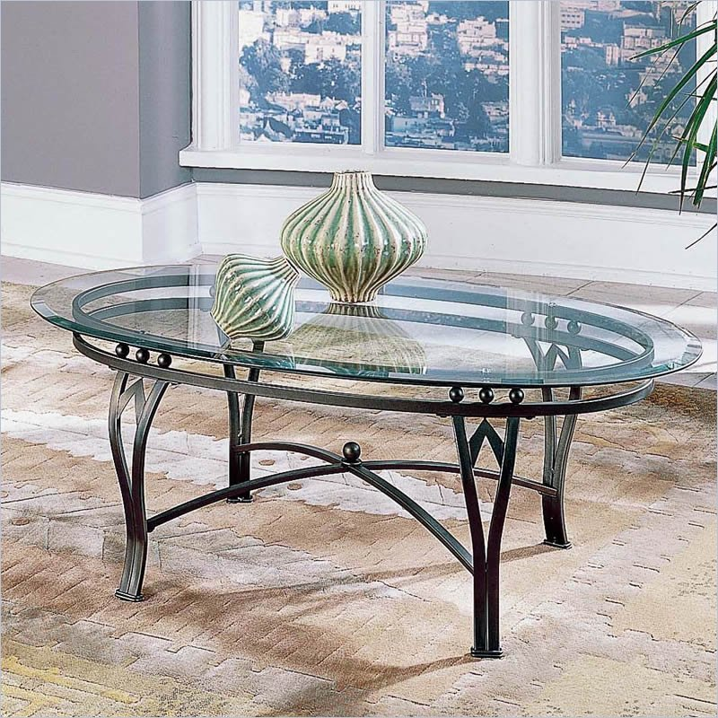 Madrid Glass Top Coffee Table