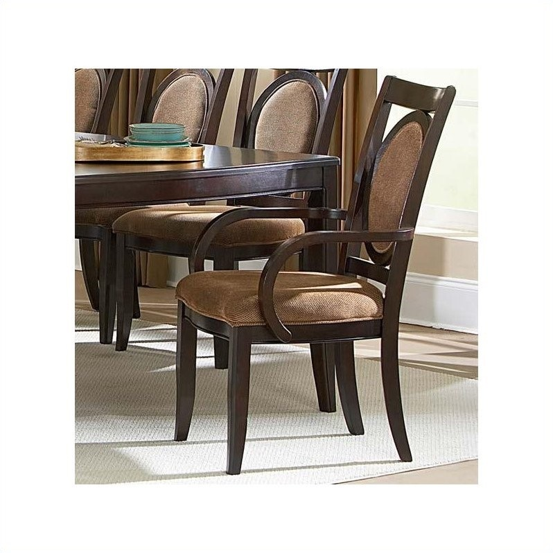 Steve Silver Company Montblanc Arm Dining Chair