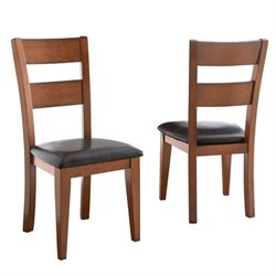 Steve Silver Company Mango  Dining Chair in Light Oak