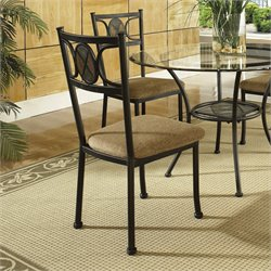 Steve Silver Carolyn Dining Chair in Slate