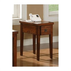 Steve Silver Company Davenport Chairside End Table