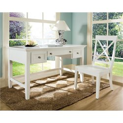 Steve Silver Oslo Desk in White