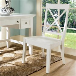 Steve Silver Oslo Dining Chair in White