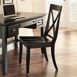 Steve Silver Oslo Dining Chair in Black