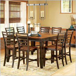 Steve Silver Company Abaco 7 Piece Counter Height Dining Set