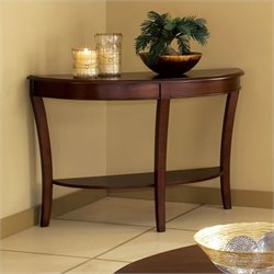 Steve Silver Company Troy Sofa Table in Cherry Finish