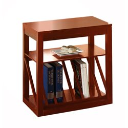 Steve Silver Jameson Chairside End Table in Oak