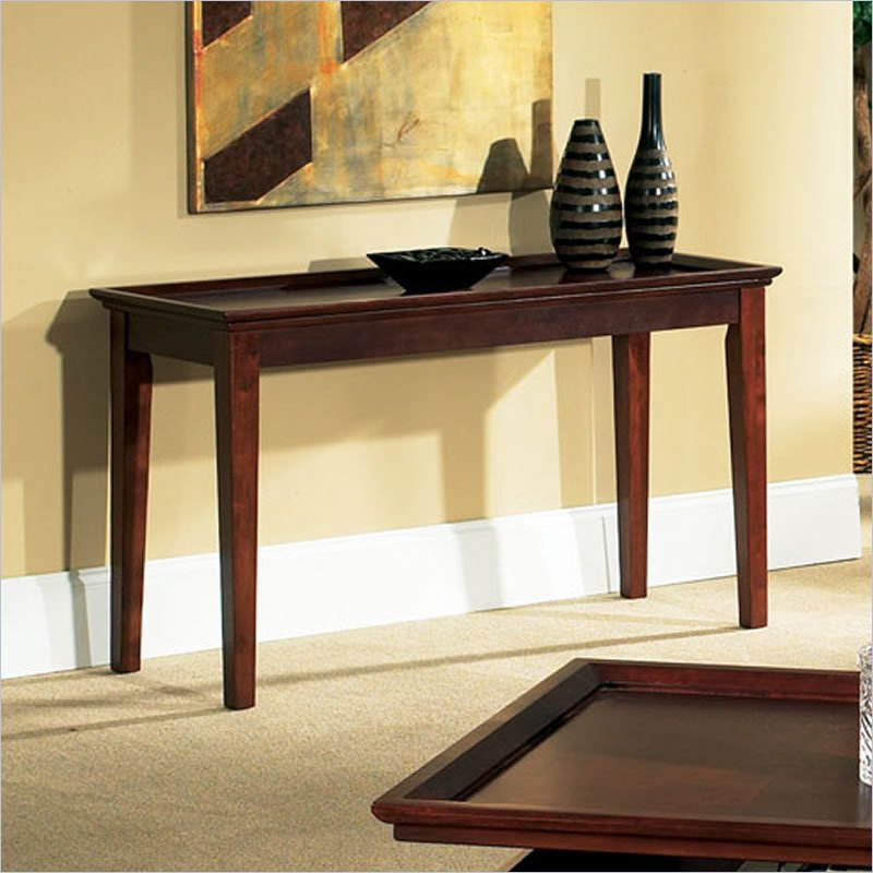 Clemens Sofa Table in Cherry Finish