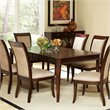 Steve Silver Company Marseille Dining Table in Dark Cherry