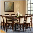 Marseille 7 Piece Counter Dining Table Set in Cherry