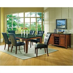 Steve Silver Company Granite Bello 8 Piece Dining Set