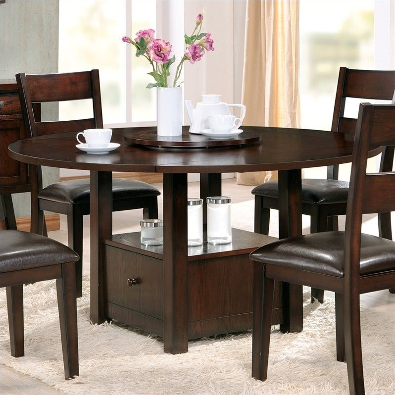 Steve Silver Company Gibson 2 in 1 Square and Round Dining Table