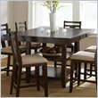 ADD TO YOUR SET: Steve Silver Company Munich Counter Dining Table with Butterfly Leaf in Rich Espresso