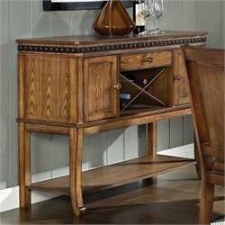 Steve Silver Company Ashbrook Sideboard in Oak Finish