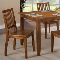 Steve Silver Company Candice Dining Side Chair in Oak