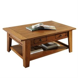 Steve Silver Company Liberty Cocktail Table in Oak Finish
