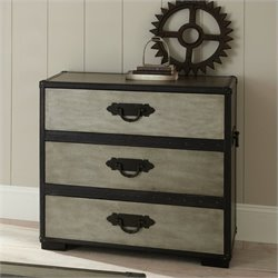 Steve Silver Company Rowan Chest in Weathered Gray Finish