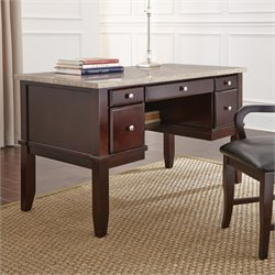 Steve Silver Monarch Desk in Cordovan Dark Cherry