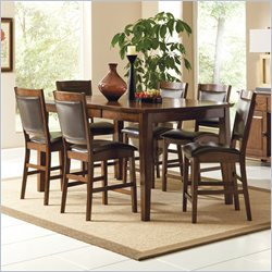 Steve Silver Company Vancouver 7 Piece Counter Height Dining Table