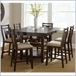 Steve Silver Company Munich 5 Piece Counter Dining Table Set in Rich Espresso