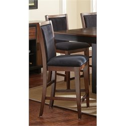 Steve Silver Julian Counter Stool in Black Walnut