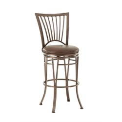 Steve Silver Baltimore Leather Swivel Stool
