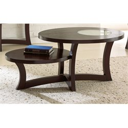 Steve Silver Alice Coffee Table in Espresso