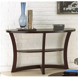 Steve Silver Alice Console Table in Espresso
