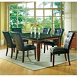 Steve Silver Granite Bello 7pc Rect Dining Room Table Set in Rich Cherry